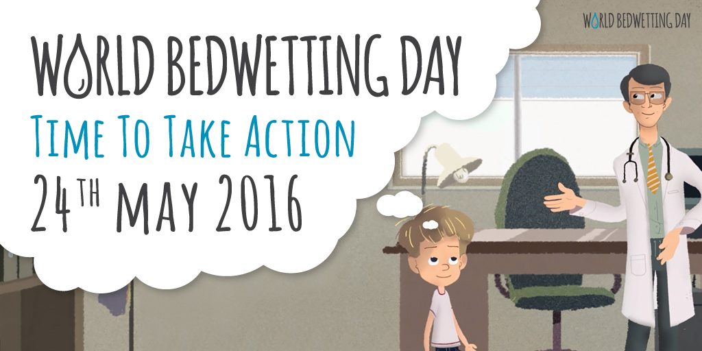 24th May World Bedwetting Day