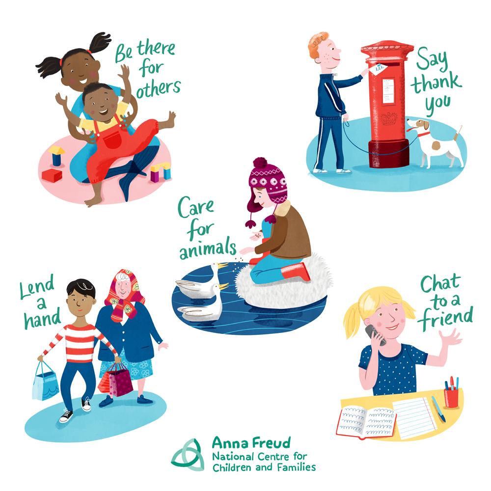 spread a little kindness children s mental health week the rh thetcj org Money Clip Art Personal Values Clip Art